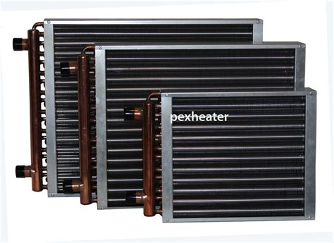 fan coil heat exchanger finned coil water to air heat exchanger 1 quot sweat