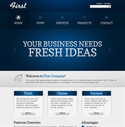 35 free and premium professional html css corporate