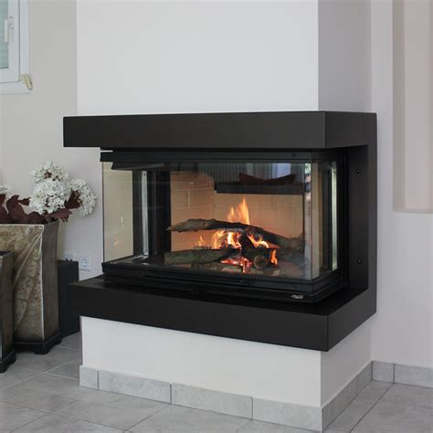 Sided Fireplace Price by Regal Fireplaces 3 Sided 90