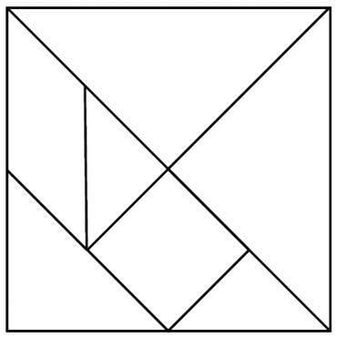 Use The Free Tangram Template Pattern In Pdf Peterdahmen De Templates Pdf