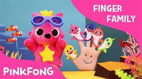 Shark Family Pinkfong Figurines shark finger family finger puppets pinkfong plush pinkfong songs for children