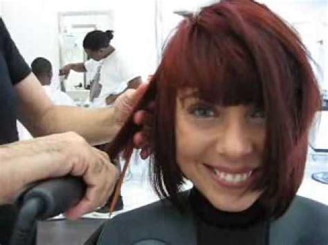 haircut makeover long to short bob haircut makeover long to short youtube