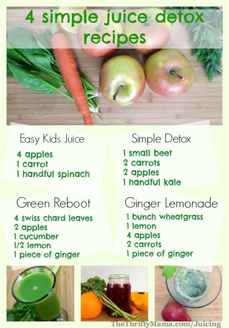 Healthy Juice Detox healthy juicing recipes 4 simple and easy juice recipes