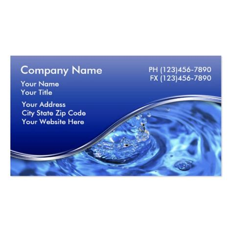 plumber business cards zazzle