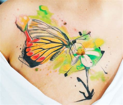 tatuaggi tribali con fiori e farfalle tatuaggi farfalle 200 foto e idee a cui ispirarsi