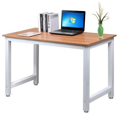 yaheetech modern simple design home office desk computer