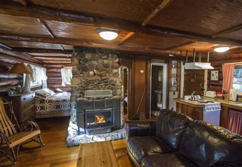One Story Log Cabin Floor Plans by Get Cozy At Vacation Cabins Near Mount Rainier The