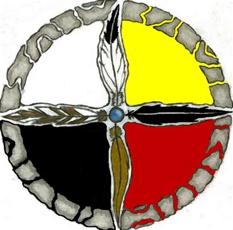 medicine wheel tattoo medicine wheel clip clipart best
