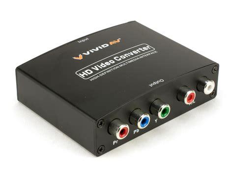 Audi Video by Vivid Av Hdmi To Component Rgb Audio Video Converter