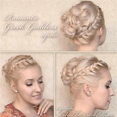 lilith moon hair tutorials lilith moon greek goddess look hairstyles pinterest