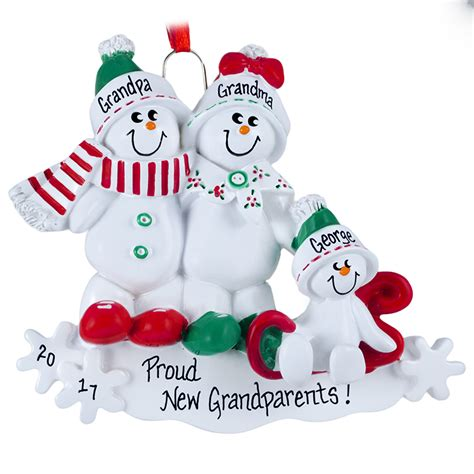 personalized grandparents christmas ornaments gifts for