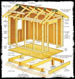 shed plans 12 215 8 build shed plans use the right wood