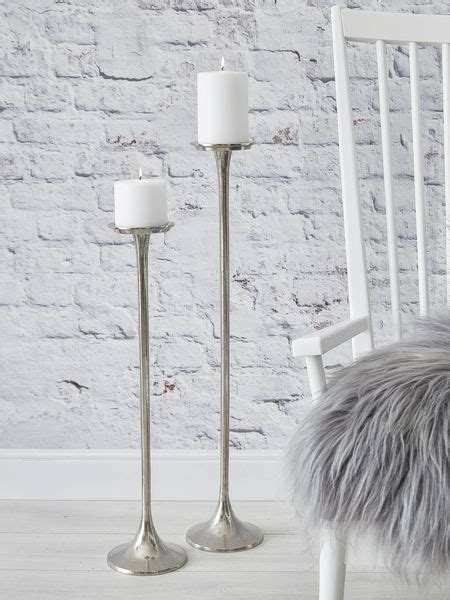 Silver Floor Candle Holders 1000 Ideas About Floor Candle Holders On