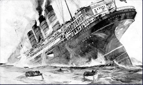 ww1 sinking of the lusitania why was the sinking of the lusitania important