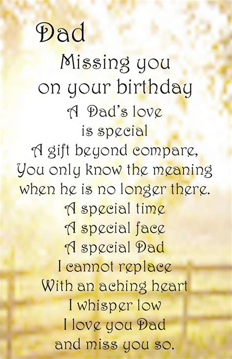 Missing Birthday Quotes 17 Best Ideas About Dad In Heaven On Pinterest Dad In