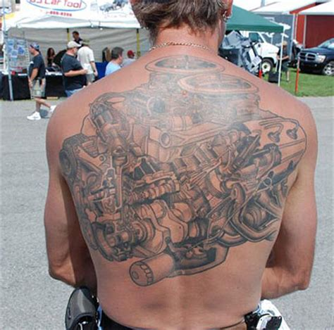 engine tattoo automotive engine tattoos www pixshark images
