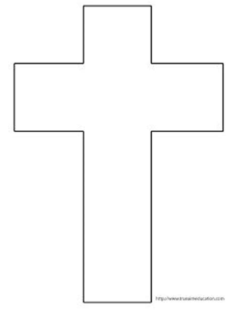 cross template printable free cross crafts crosses and crafts on