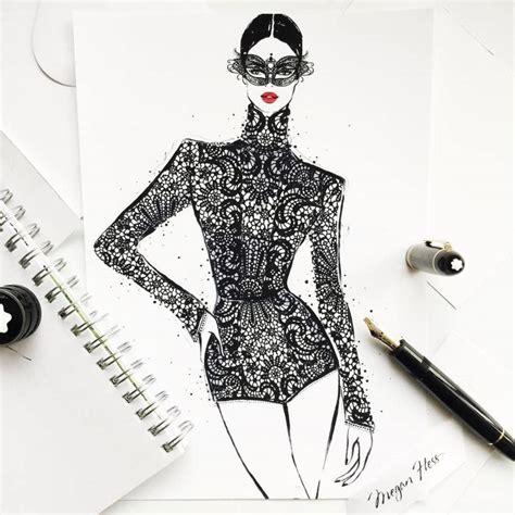 fashion illustration gallery instagram fashion illustrator megan hess on how drawing dresses became a career vogue australia