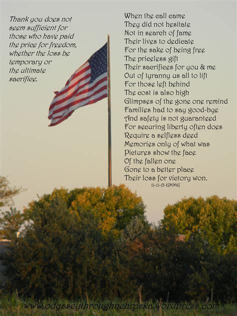 veterans day thank you poems world war ii odyssey through nebraska