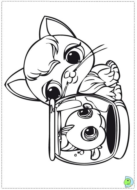 coloring pages of littlest pet shop dogs littlest pet shop coloring page dinokids org