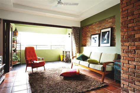 singapore home decor hdb maisonette with a rustic charm home decor singapore
