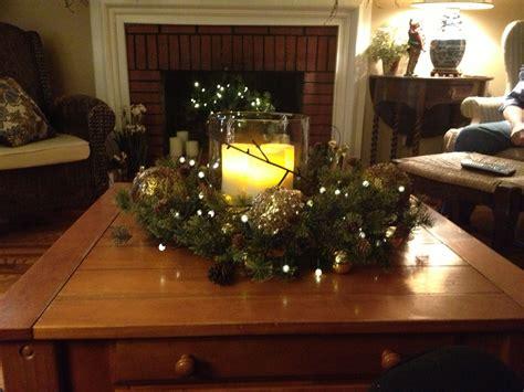 christmas coffee table centerpiece christmas pinterest