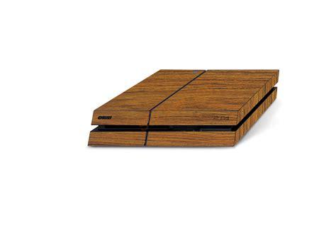 laminatfolie boden playstation 4 wood skin series stickerboy skins for