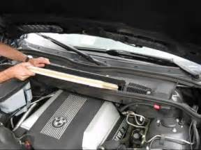 bmw cabin air filter replacement