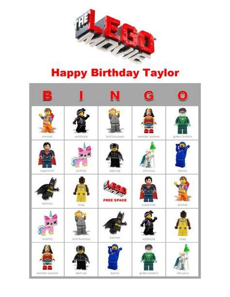 printable lego star wars bingo cards 6 best images of printable lego bingo game free