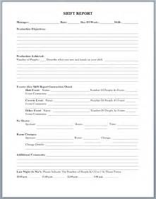 shift report sheet template production shift report template microsoft word templates