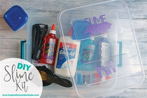 diy kit diy slime kit inspiration made simple