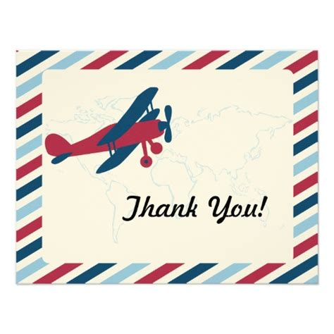 Aviation Thank You Cards