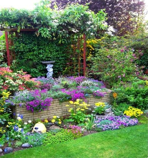 Backyard Flower Gardens Ideas Colorful Garden Flower Garden Ideas Pinterest