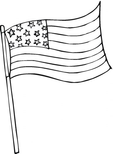 American Flag Coloring Pages Best Coloring Pages For Kids Flag Coloring Page