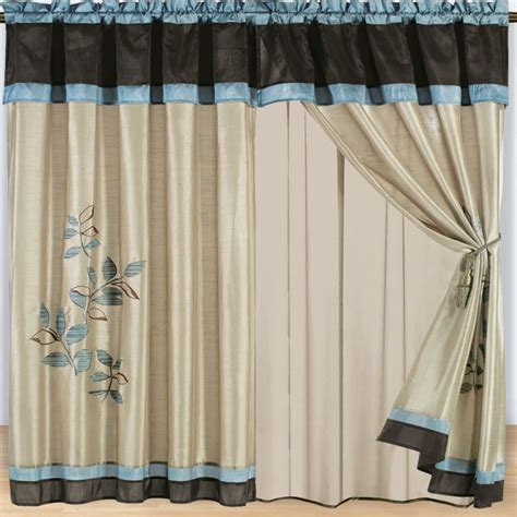 curtain with valance designs new home designs latest home curtain designs ideas