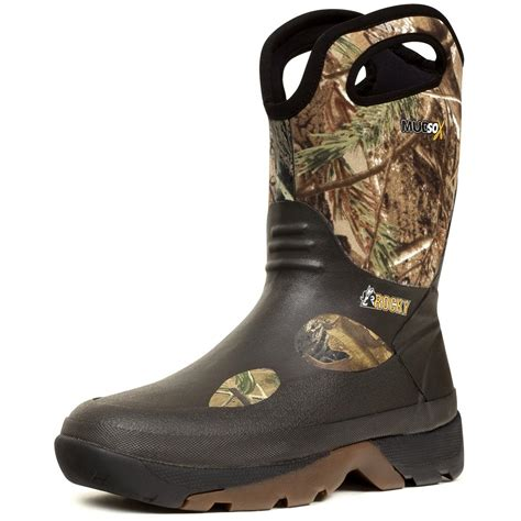 mens rubber boots s rocky 174 10 quot mudsox rubber boots 189960 rubber