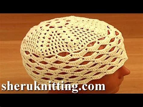 Crochet Easy Hat For Women Tutorial 10 Part 1 Of 2 | crochet easy hat for women tutorial 10 part 1 of 2 قبعة
