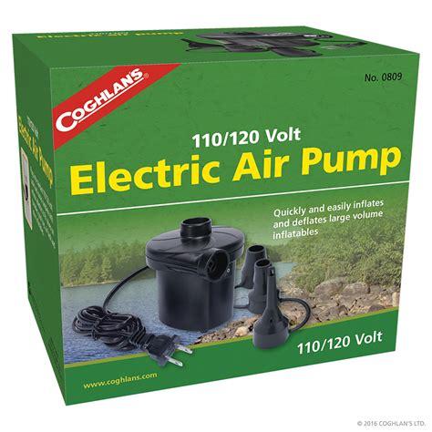 Electric Kitchen Knives 110 120v electric air pump air pumps coghlan s