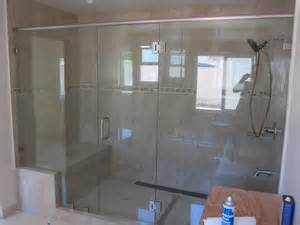 Large shower enclosure patriot glass and mirror san diego ca