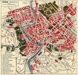 instant printable map of rome the