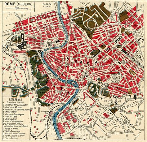 italy rome pdf free download instant art printable download map of rome the