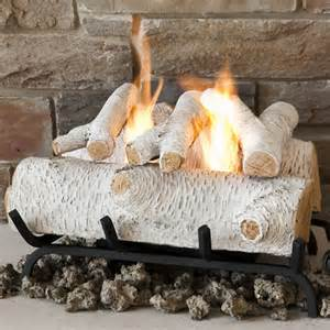 fireplace wood logs gas fireplace logs and birch fireplaces