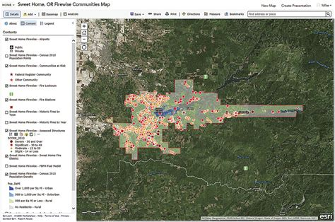 thesweethome com using web gis to build consensus and combat wildland fire