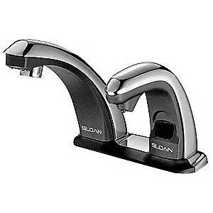 sloan touchless faucet sloan faucet with soap dispenser sensor 6uyl8 esd25085