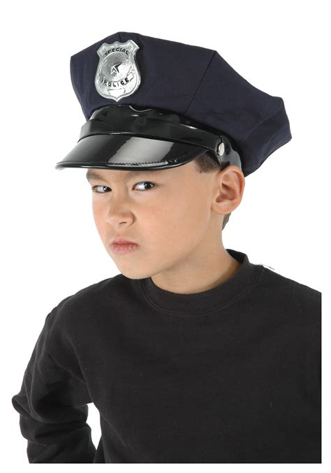 Halloween Kid Decorations - kid s police hat