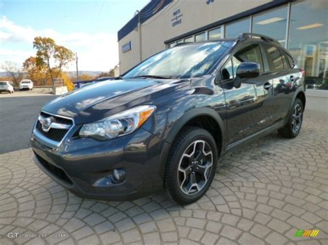 grey subaru crosstrek dark gray metallic 2013 subaru crosstrek 2 0 premium