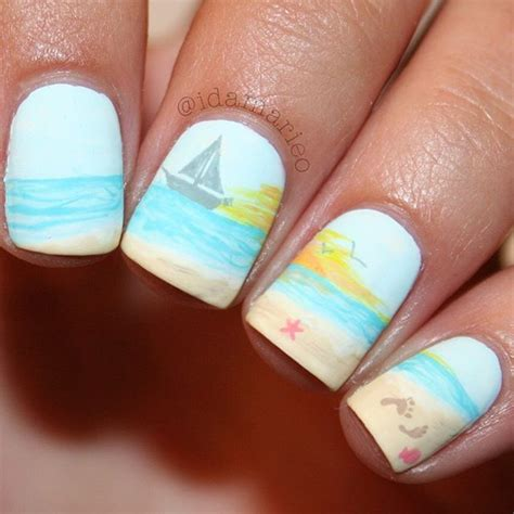 good nail color for the beach 18014 best beauty nails images on pinterest