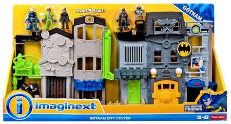 Imaginext Dc Friends Gotham City gotham city center figure set imaginext 3 inch dc