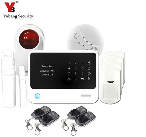 buy gs g90b plus gsm wifi gprs sms alarm system white
