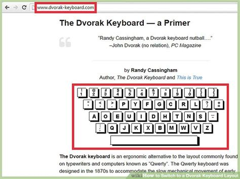 how to switch to dvorak and other keyboard layouts on 3 ways to switch to a dvorak keyboard layout wikihow